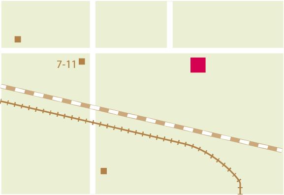イラストレーター初心者向けテクニック、アピアランス機能を使った鉄道路線の簡単な描き方
